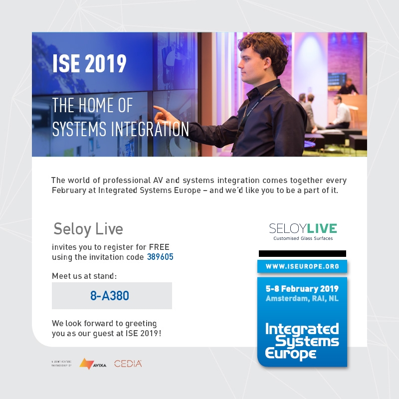 Seloy Live at ISE 2019